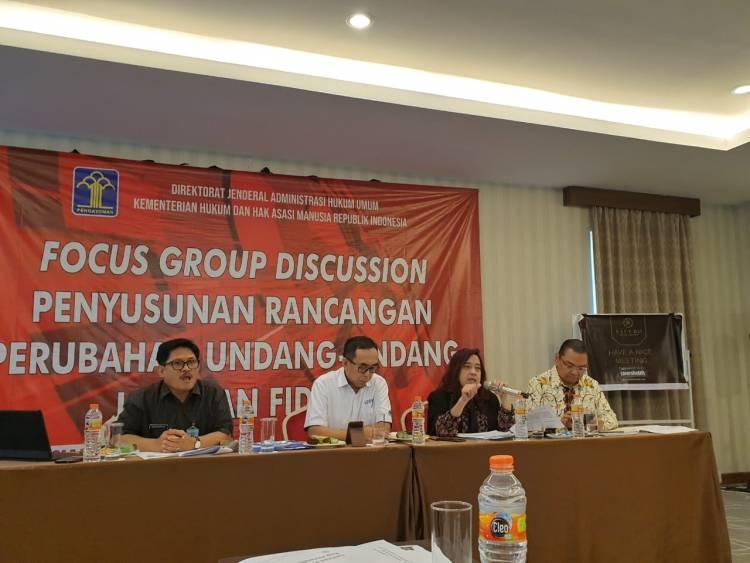 FGD - Rancangan Perubahan UU Fidusia