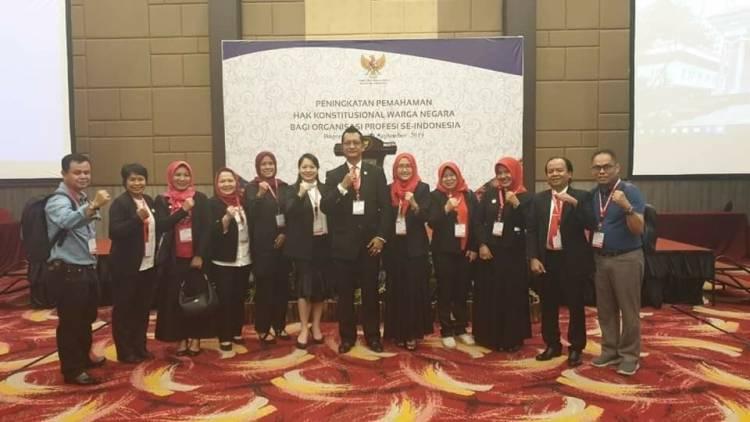 Peningkatan Pemahaman Hak Konstitusional Warga Negara bagi Pengurus dan Anggota Organisasi Profesi