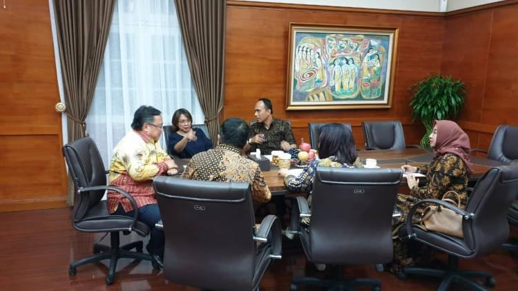 PP INI audiensi dengan Menteri Perencanaan Pembangunan Nasional/Bappenas