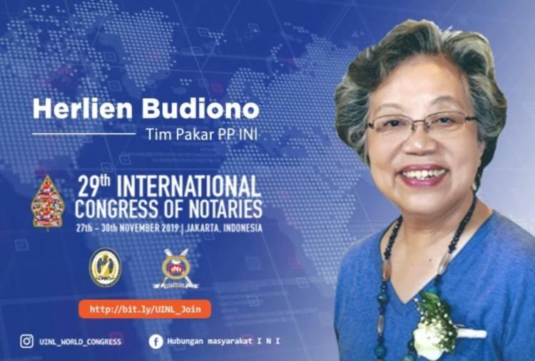 Peran, Fungsi dan Keberadaan Notaris Indonesia - Dr. Herlien Budiono SH
