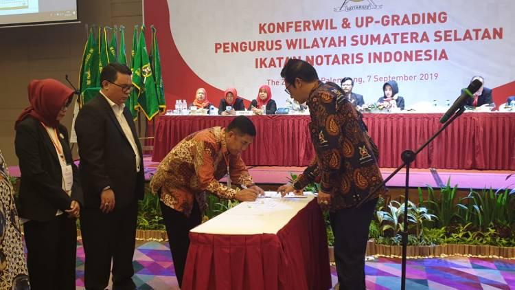 Konferensi Wilayah Sumatera Selatan Ikatan Notaris Indonesia