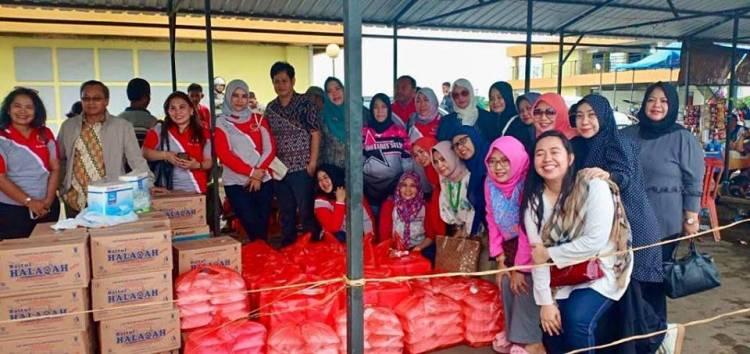 INI Peduli Banjir Bandang Sulawesi Selatan
