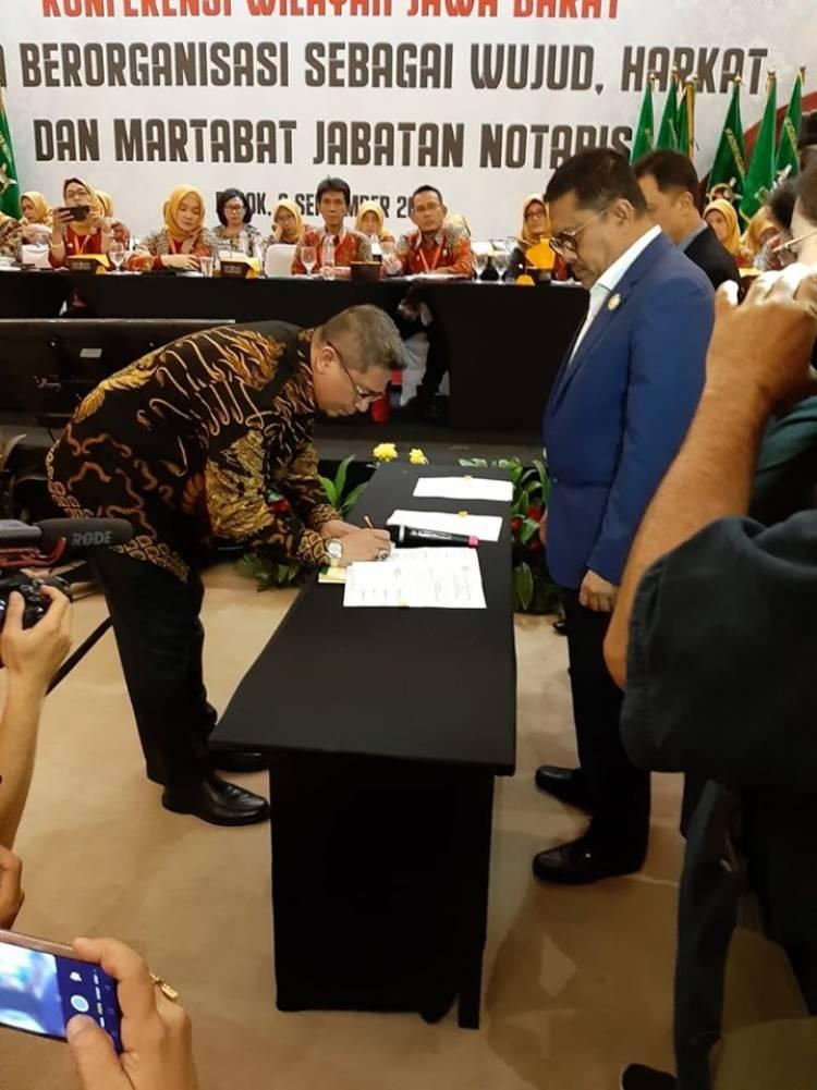 Konferensi Wilayah Jawa Barat INI ke VII