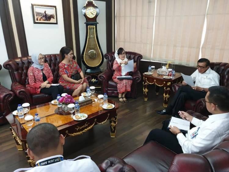 PP INI Beraudiensi dengan Menteri Hukum dan HAM Rep. Indonesia