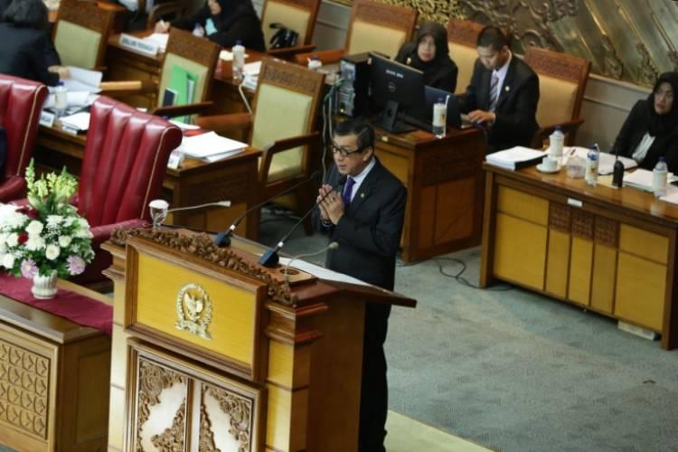 Sah, RUU Perjanjian Timbal Balik Indonesia-UEA Menjadi UU