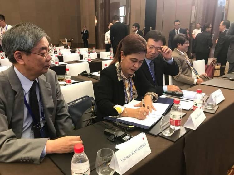 Ketua Bidang HLN diterima oleh Wakil Menteri Hukum Tiongkok yang menyampaikan perkembangan kenotariatan di Tiongkok
