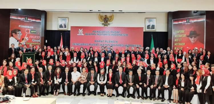 Rapat Pleno II Pengurus Pusat Ikatan Notaris Indonesia