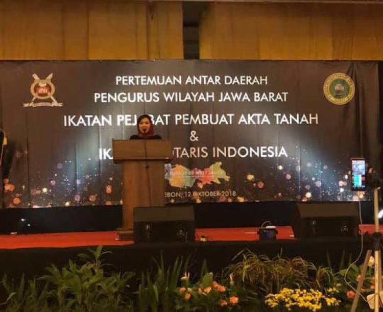 Pertemuan Antar Daerah Pengurus Wilayah Jawa Barat IPPAT dan INI