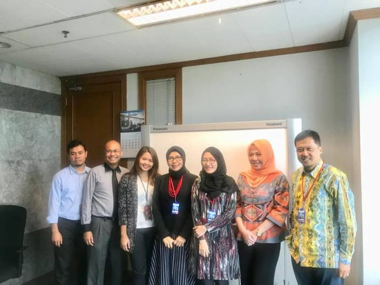 Koordinasi dengan Bank Indonesia terkait rencana kegiatan pelatihan mengenai Pasar Uang