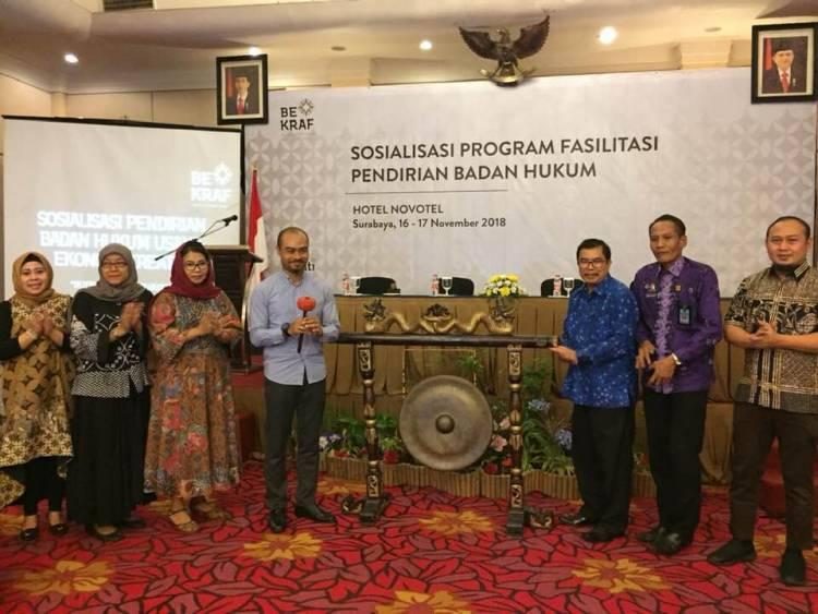 Sosialisai Program Fasilitasi Pendirian Badan Hukum