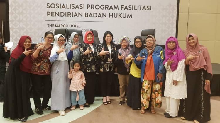 Sosialisasi Program Fasilitas Pendirian Badan Usaha