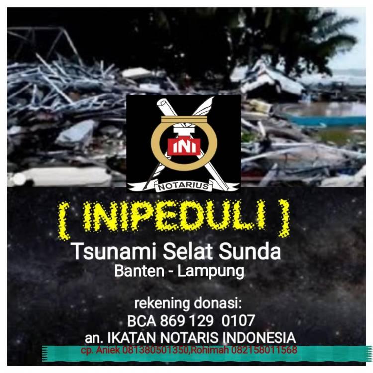 INI PEDULI Tsunami Selat Sunda